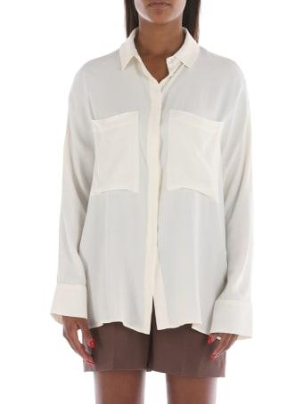 SEMICOUTURE Crepe De Chine Shirt