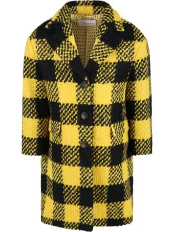 Ermanno Scervino Junior Multicolor Coat For Girl