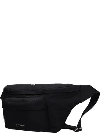 Givenchy Essential Waist Bag In Black Nylon