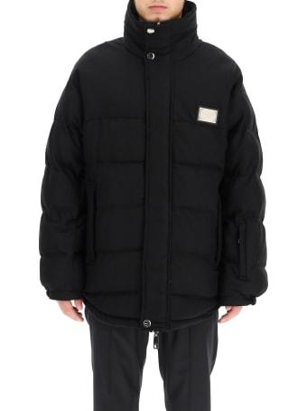 Dolce & Gabbana Reversible Wool Jacket