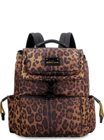 Dolce & Gabbana Sicily Logo Detail Nylon Backpack