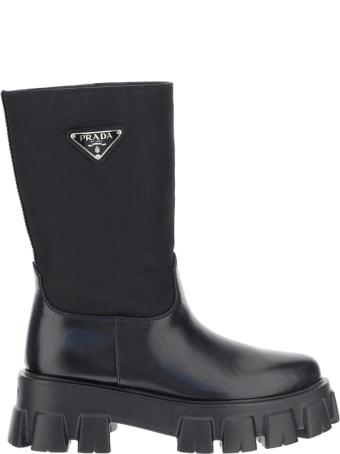 Prada Monolith Sharp Boots