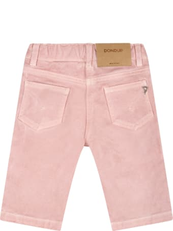 Dondup Pink Jeans For Baby Girl