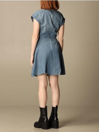 Armani Collezioni Armani Exchange Dress Armani Exchange Short Denim Dress