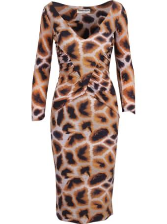 La Petit Robe Di Chiara Boni Le Petite Robe Di Chiara Boni 'gigliola Print' Polyamide Dress