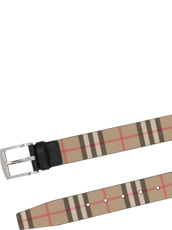 Burberry 'gray 35' Belt