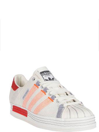 Adidas Originals by Craig Green White Canvas Cg Superstar Sneakers