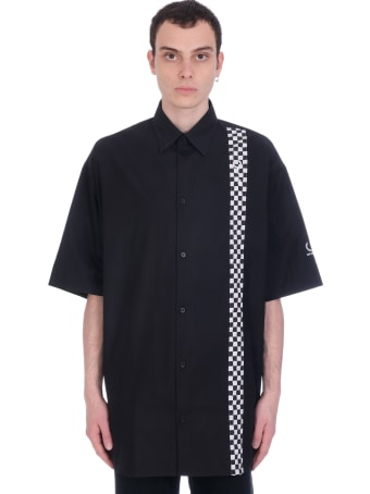 Fred Perry by Raf Simons Shirt In Black Cotton