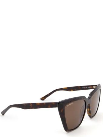 Balenciaga Balenciaga Bb0046s Havana Sunglasses
