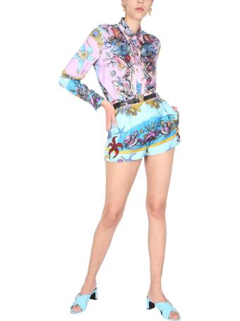 Versace Trésor De La Mer Print Shorts