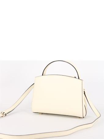 Valextra Brera Mini Bag Cream
