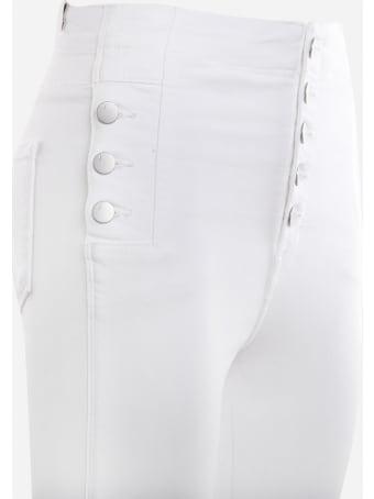 J Brand Natasha Stretch Cotton Skinny Jeans