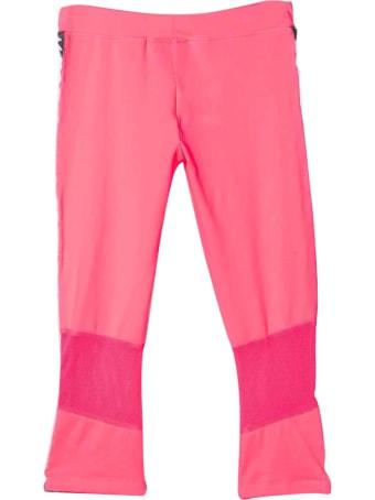 Diadora Fluo Pink Teen Trousers