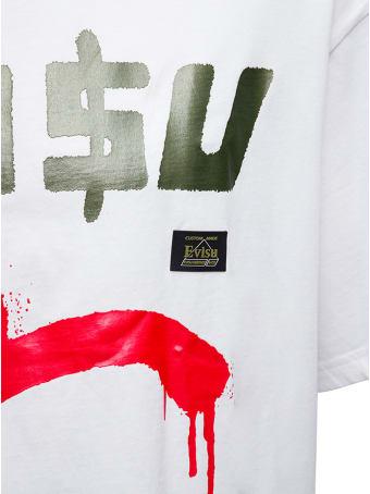 Evisu Evisu X Sfera Ebbasta Cotton T-shirt