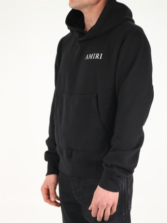 AMIRI Black Logo Hoodie