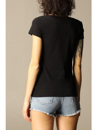 Armani Collezioni Armani Exchange T-shirt Half Sleeve Crew Neck Logo