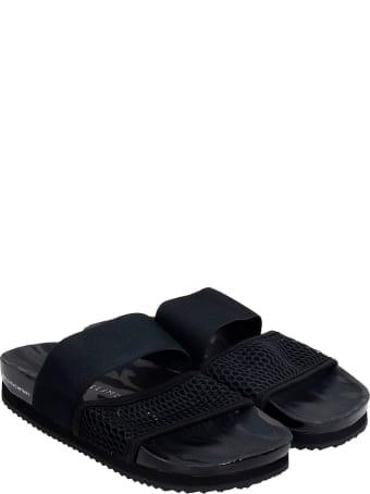 Adidas by Stella McCartney Asmc Lette Flats In Black Synthetic Fibers