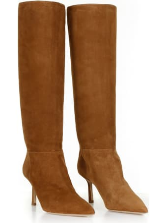 Ninalilou Suede Knee Boots