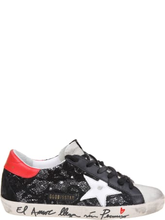 Golden Goose Super Star Sneakers With Embroidery