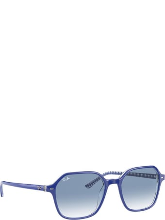 Ray-Ban Ray-ban Rb2194 Blue On Vichy Blue / White Sunglasses