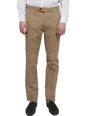 Massimo Alba Beige Winch2 Trousers