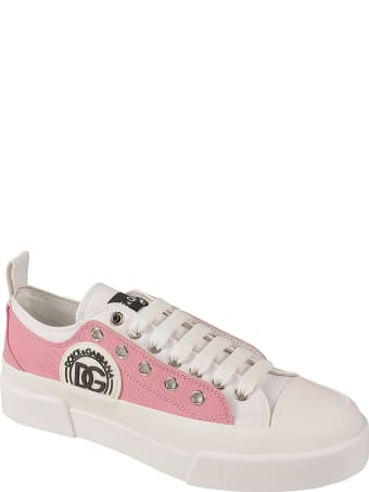 Dolce & Gabbana Logo Patched Sneakers