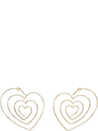 Y/Project 'heart Hoop' Earrings