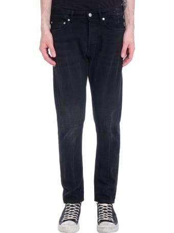 Mauro Grifoni Jeans In Black Denim