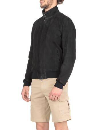 Stewart Suede Studded Jacket
