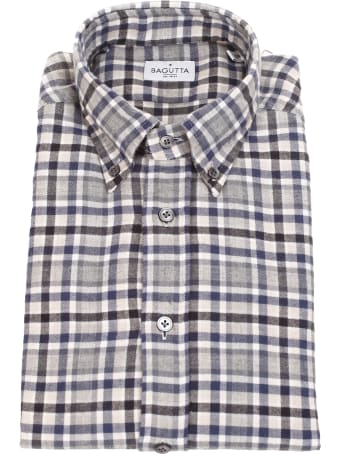 Bagutta checked shirt