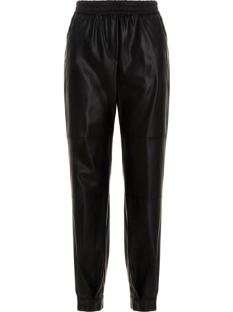 (nude) Eco-leather Pants