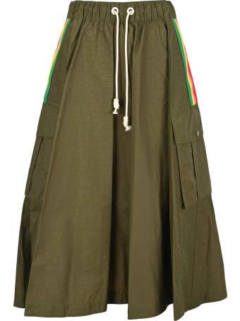 Palm Angels Cargo Skirt