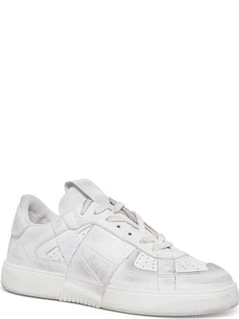 Valentino Garavani Vl7n Sneakers In Leather And Fabric