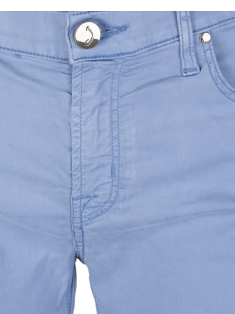 Jacob Cohen Woman Light Blue Kimberley Crop Pants