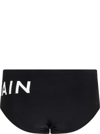 Balmain Black Swimsuit For Boy