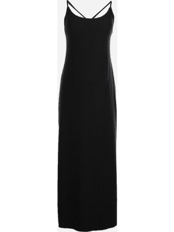 Fisico - Cristina Ferrari Long Dress With Embroidered Design