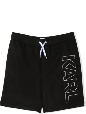 Karl Lagerfeld Kids Swimsuit With Print