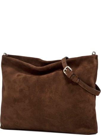 Gianni Chiarini Chocolate Clutch Bag
