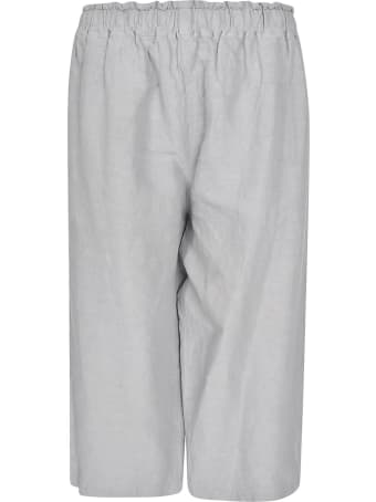 Plantation Cropped Wide Trousers