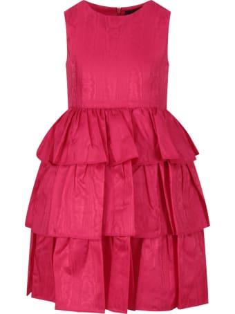 Oscar de la Renta Fuchsia Dress For Girl