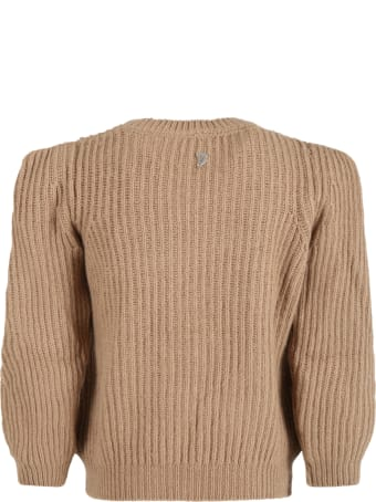 Dondup Beige Sweater For Girl