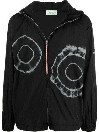 Aries Black Tie-dye Print Jacket