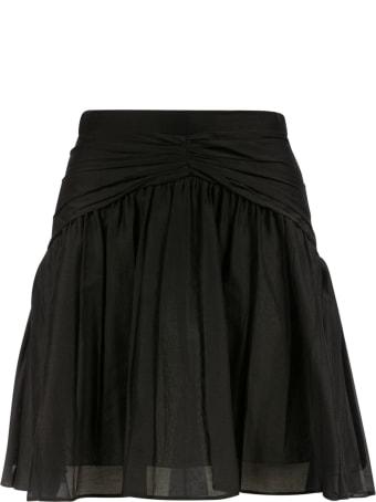 N.21 Back Zip Skirt