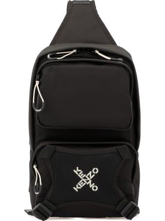 Kenzo One Shoulder Loged Backpack