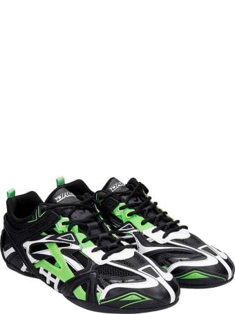 Balenciaga Closed  Sneakers In Black Synthetic Fibers