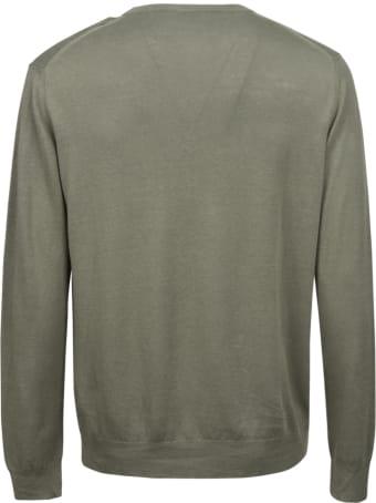 Altea Ribbed Knit Plain Sweater