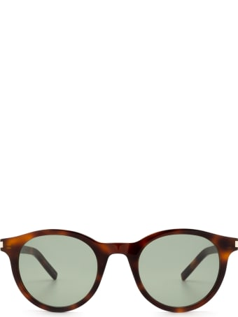 Saint Laurent Saint Laurent Sl 342 Havana Sunglasses