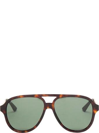 Gucci Gucci Gg0688s Dark Havana Sunglasses