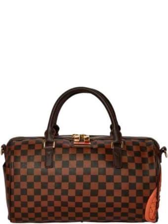 Sprayground Henny Checkered Mini Duffle Bag