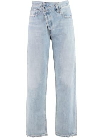 AGOLDE Criss Cross Upsized Jeans